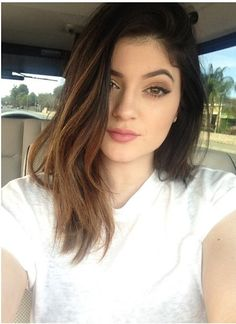 Kylie jenner #hair - defs cutting & colouring my hair like this before july