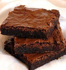 BROWNIES DE CHOCOLATE Ingredientes: 175 gr de manteiga sem sal à temperatura ambiente 100 gr de açúcar 100 gr de cacau em pó ...