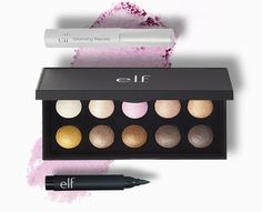 ELF Cosmetics 3-piece Free Bonus Gift with $25 Purchase & Promo Code PERFECTEYE at ELF Cosmetics - details at MakeupBonuses.com #ELF #e.l.f. #GWP