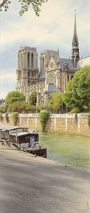 «Notre Dame et la Nouvelle Seine».