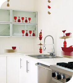 Stickers Muraux et stickers deco Stickers cuisine: Vaiselle  chez stickboutik.com