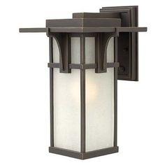 Manhattan 1-Light Outdoor Sconce