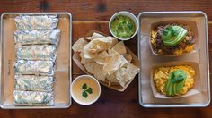 HomeState - Why Texans and Californians are finding home in these breakfast tacos. Guajillo Sauce, Weekend In Los Angeles, Smoked Gouda Cheese, Los Angeles Restaurants, Breakfast Tacos, Chicken And Waffles, Carne Asada, Tex Mex, Palak Paneer