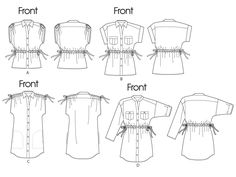 ***McCall's M6401 Pattern - Tunic Top***. MISSES' TOPS AND TUNICS: Very loose fitting.