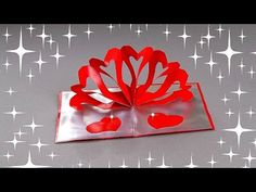 SUPER EASY - VALENTINE'S DAY POP UP CARD - TUTORIAL / DIY CARD MAKING IDEAS - YouTube
