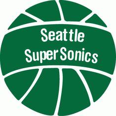 Seattle SuperSonics logo 1970