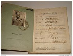 GREECE Royal Greek Army Soldier's Service & Pay Book 1952 rare unique 160 pages. delcampe auctions