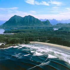 Tofino, Canada B.C.. It's Beautiful! One of the most scenic drives I've experienced. I would do it again in a heartbeat!