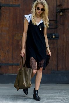 How to Layer T-Shirts Under Dresses for Summer   StyleCaster