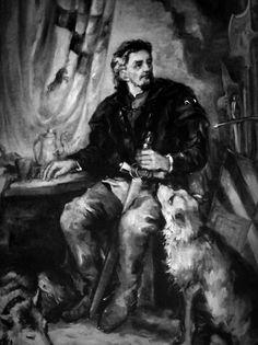 Erazem Luegger - Lord of the Predjama Castle in 15th Century   #slovenia #predjamacastle #predjamskicastle #placetovisit #erazemluegger #thingstodo #history #slovenianhistory #castleinacave #postojna #sloveniancastles #postojnacastle