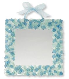 Sea Gl Mirror Decor Crafts Art