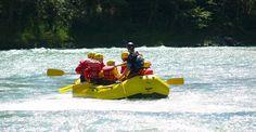 Schlauchboot-Tour auf der Iller Gunzesried #Abenteuer #Boote #Bootsfahrt