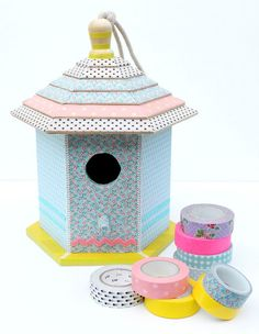 Uma certa casinha ♥ DIY decorating with washi tapes