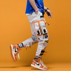UNI-ROY Belted Cargo Joggers | Clout Collection – CLOUT COLLECTION Jogger Pants, Cargo Pants, Joggers, Hip Hop Mode, Style Streetwear, Pantalon Cargo, Pants Outfit, Cool Stuff, Stuff To Buy