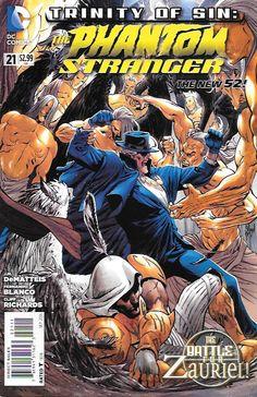 Trinity of Sin: The Phantom Stranger # 21 DC COmics The New 52!