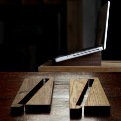 Eco-Organic Laptop Stand    The Eco-organic laptop is hand-made, hand sanded and hand-finished.