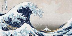 Hokusai au Grand Palais : l'art japonais déferle sur Paris - Culturez-vous Great Wave Off Kanagawa, Japanese Waves, Japanese Art, Japanese Culture, Japanese Drawings, Monet, Artist Canvas, Canvas Art, The Blue Boy