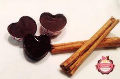 bombones de chocolate y canela fáciles