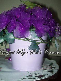stocking flowers - Buscar con Google