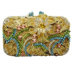 Flower Shape Studded Diamond Clutch Bags Luxury Women Crystal Evening Bag Prom Clutch Purse Wedding_5 https://www.lacekingdom.com/