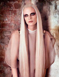 Kristen McMenamy for Vogue Germany April 2013
