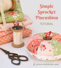 Simple Sprocket Pincushion Tutorial