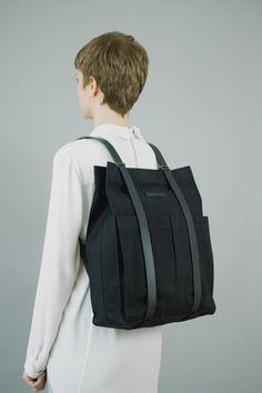 Market Bag Black - thisispaper