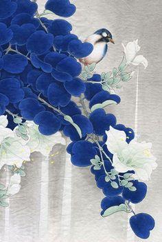 Pinturas do artista chinês Zhou Yansheng - Parte 1 Japanese Painting, Chinese Painting, Art Floral, Japanese Prints, Japanese Art, Art Chinois, China Art, Bird Art, Contemporary Paintings