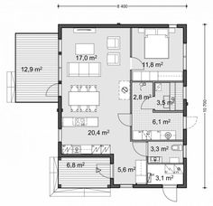 Small House Plans, Floor Plans, How To Plan, Sims, Little House Plans, Tiny House Plans, Mantle, Small House Layout, Floor Plan Drawing