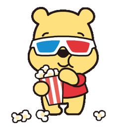 LINE Official Stickers - Heartwarming Winnie the Pooh Example with GIF Animation Winnie The Pooh Gif, Winnie The Pooh Drawing, Winnie The Pooh Friends, Cartoon Wallpaper Iphone, Cute Disney Wallpaper, Cute Cartoon Wallpapers, Cartoon Caracters, Funny Cartoon Gifs, Dibujos Cute
