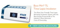 Esco Miri® TL Time Lapse Incubation System,  ✓ Designed to support existing work and quality assurance routines ✓ Designed for clinically use – not for research and optimized for IVF procedures ✓ Unique incubation environment with the markets most secure and safe procedures  Learn more: http://medical.escoglobal.com/escomedical-miritl.php