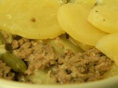 Off the Wheaten Path: Gluten Free Hamburger Casserole...So Good When You Feel Not So Good