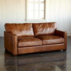 OAKVILLE LEATHER SOFA - Sofas & Chairs - Furniture - Furniture & Decor - Categories | Robert Redford's Sundance Catalog