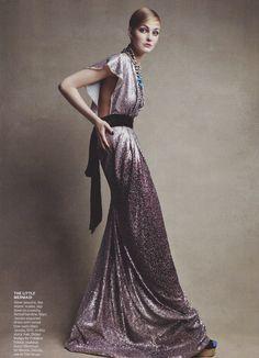 Patrick Demarchelier / Vogue US October 2010