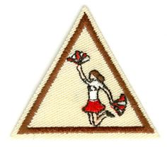 Cheerleading Brownie Try-It  Girl Scouts of Northern California