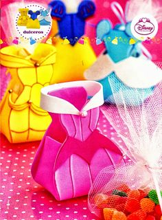 como hacer souvenirs para fiestas princesas