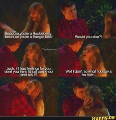 The campfire scene, the most romantic scene in GMW ever, and also my favorite Lucaya moment...