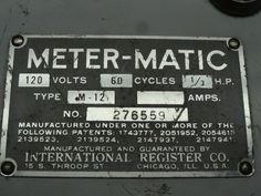 Close-up of Meter-Matic.