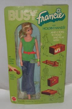 1972 Mattel Busy Francie Doll
