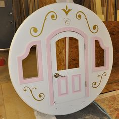 cinderella carriage bed | Cinderella Princess Carriage Bunk Bed by Tanglewood Design