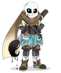 Ink Sans I swear you just get cooler every time I see you