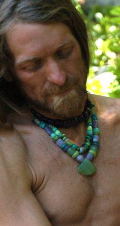 Hand made Stone Bead talisman: http://manitoubeads.com/shop/