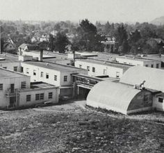 Vets Dorms on campus 1951. From the 1952 Oregana (University of Oregon yearbook). www.CampusAttic.com