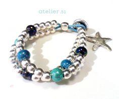 #Pulsera #Bracelet www.facebook.com/atelier51.Plasencia http://www.atelier51handmade.com/