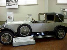 1921 Roamer Town Car. Thanks To NJ Estates Real Estate Group http://www.njestates.net/
