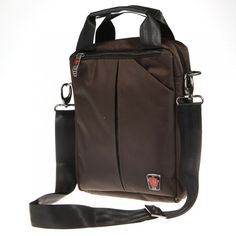 Men's Tote Shoulder Messenger Business Handbag