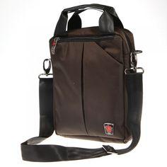 Men's Tote Shoulder Messenger Business Handbag
