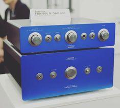 Sugden Sapphire Pre-Amp and Power Amp Audiophile, Audio Design, Audio Room, High End Audio, Audio Speakers, Room Pictures, Audio Equipment, Beautiful, Instagram News