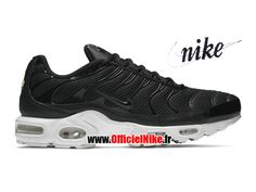 Homme Chaussures Nike Air Max Plus Tn/Tuned Breathe (BR) Noir/Blanc sommet/Anthracite/Noir 898014-001