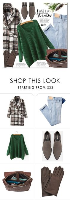"""""""Winter style"""" by mada-malureanu ❤ liked on Polyvore featuring AG Adriano Goldschmied, Zara, AGNELLE, Sheinside and shein"""